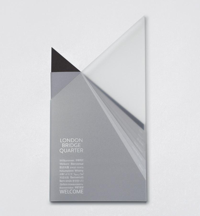 The Shard brochure designed by Opprortunus
